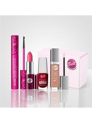 Подарочный набор Bell defines Beauty. Цвет: розовый