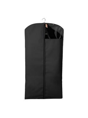 Чехол для костюмов и платьев Miolla. Цвет: черный