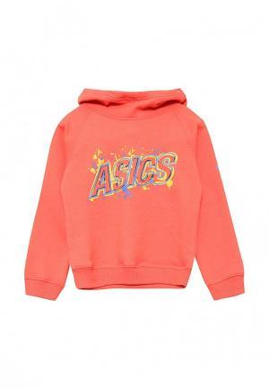 Худи ASICS. Цвет: оранжевый