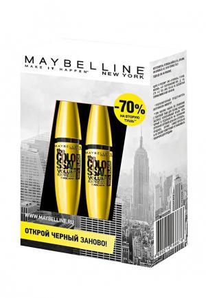 Набор для макияжа глаз Maybelline New York. Цвет: черный