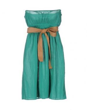 Короткое платье ..,MERCI. Цвет: зеленый