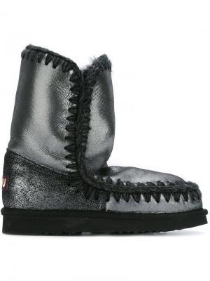 Ботинки Eskimo Mou. Цвет: чёрный