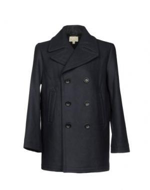 Пальто CLUB MONACO. Цвет: темно-синий