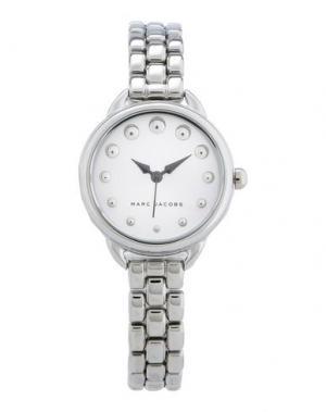 Наручные часы MARC JACOBS. Цвет: серебристый