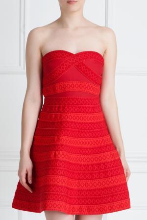 Платье Maje. Цвет: красный