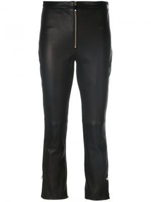 Укороченные брюки Coliac. Цвет: чёрный