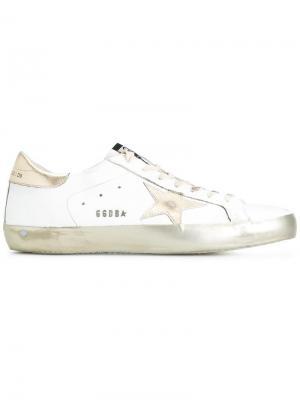 Кроссовки Superstar Golden Goose Deluxe Brand. Цвет: белый