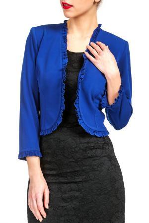 Болеро Georgede. Цвет: blue