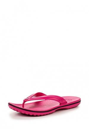 Сланцы Crocs. Цвет: розовый