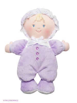 Игрушка мягкая Lillie Doll Gund. Цвет: сиреневый, светло-бежевый