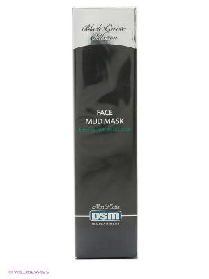 Грязевая маска для лица Black Caviar Collection, 100 мл Mon Platin DSM. Цвет: темно-серый