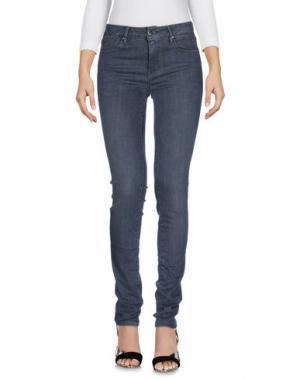 Джинсовые брюки TRAMAROSSA. Цвет: серый