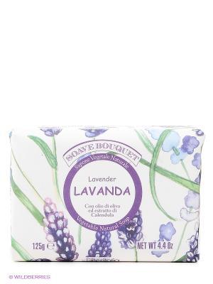 Высококачественное натуральное растительное мыло Iteritalia. Цвет: белый