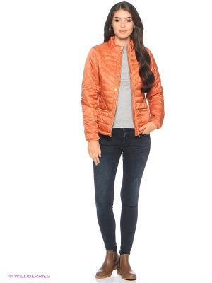 Куртка Vila. Цвет: оранжевый