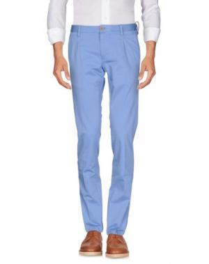 Повседневные брюки AT.P.CO. Цвет: небесно-голубой