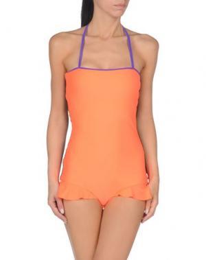 Слитный купальник ROKSANDA. Цвет: оранжевый