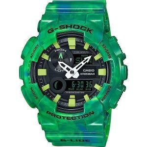 Кварцевые часы  67035 Gax-100mb-3a Casio G-Shock. Цвет: зеленый