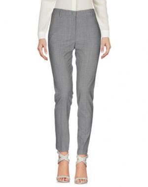 Повседневные брюки QL2 QUELLEDUE. Цвет: светло-серый