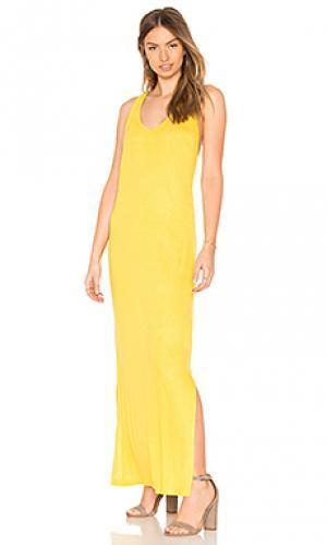 Макси платье Lenny Niemeyer. Цвет: желтый