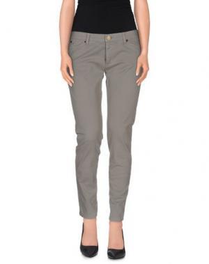 Повседневные брюки SUPERFINE. Цвет: серый