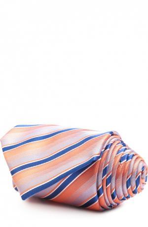 Галстук Brioni. Цвет: оранжевый