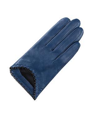 Перчатки ESMEE. Цвет: синий