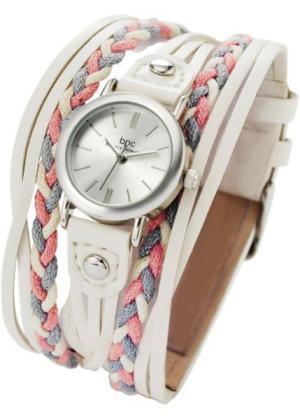 Часы Софи (белый) bonprix. Цвет: белый