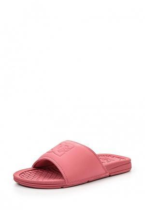 Сланцы DC Shoes. Цвет: розовый
