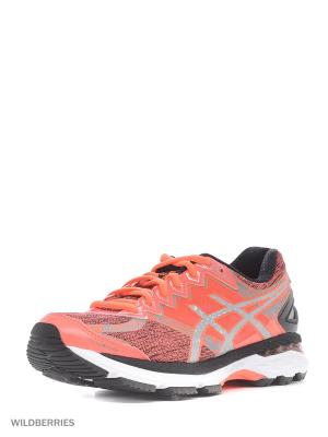 Спортивная обувь GT-2000 4 LITE-SHOW PlasmaGuard ASICS. Цвет: коралловый, серый, черный