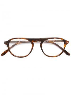 Очки Bengali в черепаховой оправе Paul & Joe. Цвет: коричневый