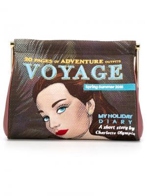 Клатч Voyage Maggie Charlotte Olympia. Цвет: многоцветный