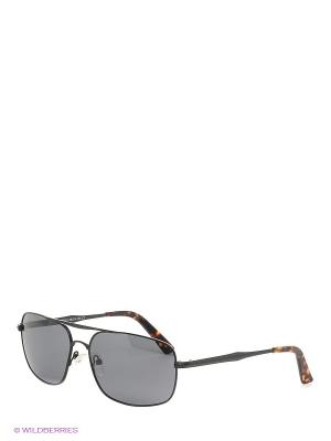 Солнцезащитные очки Selena. Цвет: черный, коричневый