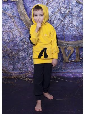 Худи ЛисФлис. Цвет: желтый