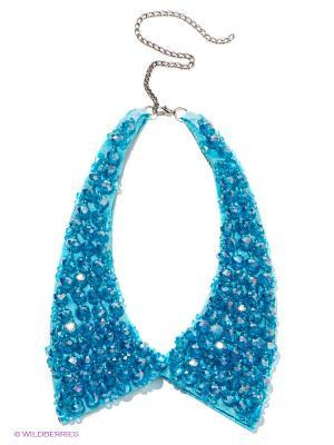 Колье Royal Diamond. Цвет: голубой