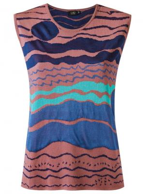 Knit top Gig. Цвет: синий
