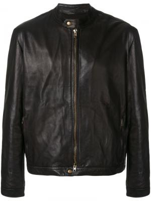 Куртка-бомбер на молнии Salvatore Santoro. Цвет: коричневый