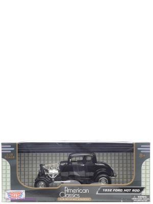 Машинка коллекционная 1932 Ford Hot Rod Motormax. Цвет: черный