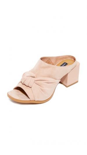 Туфли без задников Shift с квадратным каблуком JAGGAR. Цвет: оранжевый