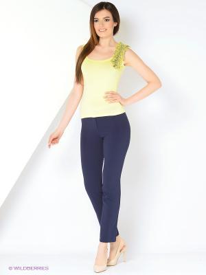 Топ Milana Style. Цвет: желтый