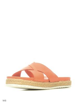 Пантолеты Tucino. Цвет: оранжевый