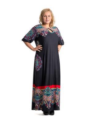 Платье Капелька черная Glam Goddess