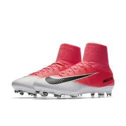 Футбольные бутсы для игры на твердом грунте  Mercurial Superfly V Nike. Цвет: розовый