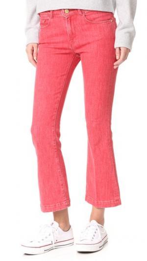 Укороченные буткат-джинсы Le Color FRAME. Цвет: оранжевый