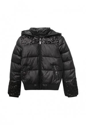 Куртка утепленная Blukids. Цвет: черный
