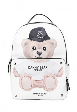 Рюкзак Danny Bear. Цвет: белый