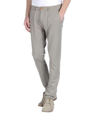Повседневные брюки PRAIO. Цвет: серый
