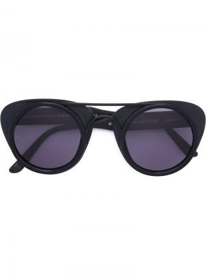 Sodapop III sunglasses Smoke X Mirrors. Цвет: чёрный