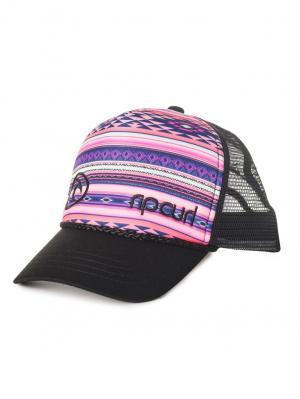 Кепка  SURF BANDIT TRUCKER Rip Curl. Цвет: серый, розовый, темно-фиолетовый