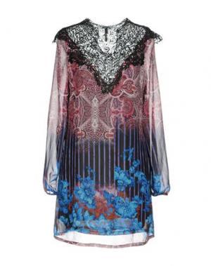 Короткое платье LUNATIC. Цвет: пурпурный