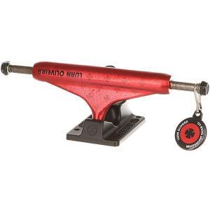 Подвеска для скейтборда 1шт.  Luan Oliveira Trans Standard Red/Matte Black 5.25 (20.3 см) Independent. Цвет: красный,черный